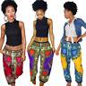 New fashion women printed  African dashiki cotton pant Aladdin yoga harem-SM/LXL