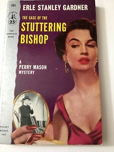 Perry Mason PB The Case of Stuttering Bishop By Erle Stanley Gardner 1954 Vinti