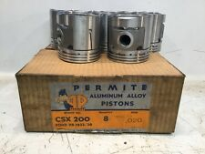 Vintage Permite  Piston And Pin Part # CSX 200 .020 Oversize. Ford V-8 1932-36.