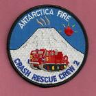 ANTARCTICA NAVAL STATION CRASH FIRE RESCUE CREW 2 PATCH