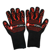 FlipFork Heat Resistant BBQ and Oven Gloves up to 932 F