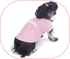 SMALL DOGS BABY PINK SHORT SLEEVE TEE SHIRT (100% COTTON) BRAND NEW FOR SUMMER