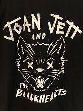 Joan Jett and the Blackhearts Black Cat T Shirt Tour Merch Size XL
