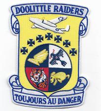 """Doolittle Raiders """"Toujours Au Danger"""" Commemorative patch"""