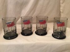 4 vintage spirit of 76 trailmobile Trucking Semi Trailer Trucks Wagons Glasses T