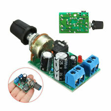 Mini Power Module Audio Board Hifi Amplifier Jack 3V~12V Lm386 3.5mm Amp Newly