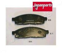 PA504AF Kit pastiglie freno, Freno a disco (JAPANPARTS)