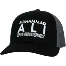 Title Boxing Muhammad Ali 3.0 Flat Bill Adjustable Cap - Black/Gray