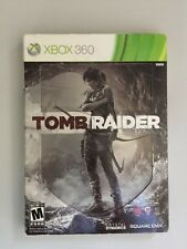 Tomb Raider Xbox 360 Steel Book Edition OOP Nintendo Square Enix
