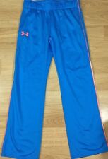 Under Armour pants Youth Large Loose Blue Orange New!