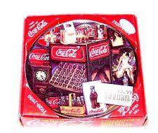 Vintage Coca Cola Coke Soda Pop 1920-30 Collectors Mini Plate Can Sign Clock Ofr