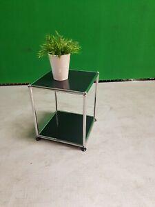 * USM Haller Beistelltisch *   Schwarz * TV Möbel * 35 x 35 x 40*