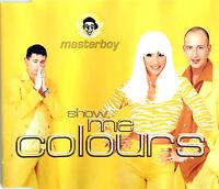 Masterboy Maxi CD Show Me Colours - Germany (EX/EX)