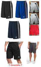 SALE NWT Men's Adidas Climalite Essentials Shorts Many colors S M L XL 2XL $40