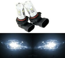 LED 30W 9006 HB4 White 5000K Two Bulbs Fog Light Replacement Lamp Plug Play