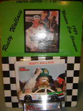 #27 Rusty Wallace 1989 Winston Cup Champion 1/64 Racing Champs Pontiac Diecast