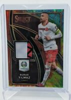 2020 Panini Select UEFA Euro ☆ Burak Yilmaz ☆ Turkey ☆ Tie-Dye Prizm Patch #/25