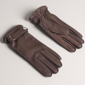 Dunhill Hunting Gloves 100% Deer Skin 100% Cashmere Lining size regular RRP £315