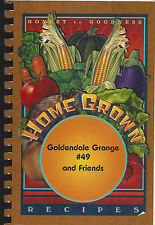* GOLDENDALE WA 2003 GRANGE & FRIENDS COOK BOOK HOME GROWN * WASHINGTON HISTORY