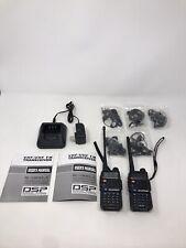 BAOFENG BF-F8+ Lot Of 2 VHF/UHF Portable Two Way Radio Read Description!!