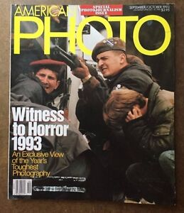 American Photo Magazine Sept/Oct  1993  Special Photojournalism Issue
