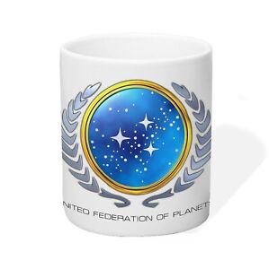 Tasse Kaffeetasse United Federation of Planets Star Trek Captain Kirk Mr. Spock