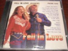 POCKET SONGS KARAOKE DISC PSCDG 1542 FELL IN LOVE COUNTRY CD+G MULTIPLEX