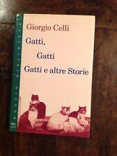 G. CELLI GATTI, GATTI E ALTRE STORIE MUZZIO BIBLIOTECA I EDIZIONE 1995