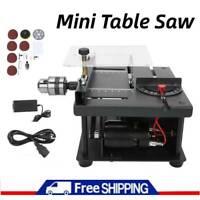 Electric Mini Table Saw Wood Cutting Polishing Machine