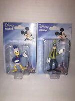 Goofy & Donald Duck Set of 2 PVC Figurines New Disney Mickey Friends Toys