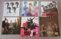 TVXQ TOHOSHINKI CD Album Lot of 6 CD + DVD 1st Limited Edition Japan KOREA K-POP