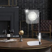 Tresse Bille Lampe de table Aluminium chambre-salon verre récolte nuit lumière