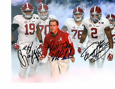 Nick Saban Reprinted autographed signed photo Alabama DERRICK HENRY RAGLAND TIDE