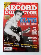 Record Collector Magazine November 2011 ELVIS Cover