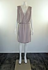 Witchery Beige Dress Size  8 Near New with Bonus Slip