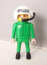 PLAYMOBIL (K2114) POLICE - Policier Officier Pilote d'Hélicoptère 3907