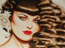 "OLIVIA DE BERARDINIS ""CINDY"" LIMITED EDITION SIGNED & NUMBERED 18/55"
