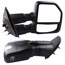 Turn Signal w/ Puddle Light Power Heated Towing Mirror For 1997-1999 Ford F250