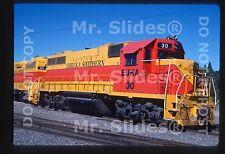 Original Slide EUKA Eureka Southern GP38 30 In 1985 At Willits CA