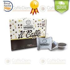Caffe CaffèDiem 100 Capsule Cialde Compatibili Bialetti Miscela Decaffeinato DEK