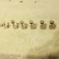 Vintage Closed Style Guitar Tuners Set for Parts or Project