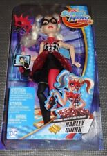 HARLEY QUINN MASQUERADE **RARE** DC Super Hero Girls Deluxe Doll - Action Figure