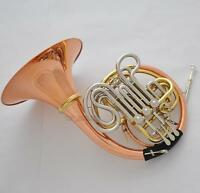 Professional 103 Model Double French Horn ROSE BRASS Detachable Bell NEW CASE