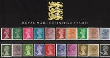 GB 1987 DEFINITIVE MACHIN PRESENTATION PACK No.9 1p to 75p MINT STAMP SET # 09