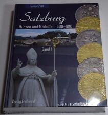 Salzburg Münzen und Medaillen 1500-1810 Helmut Zöttl Band 1 Verlag Frühwald NEU