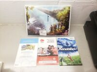 NO GAME Xenoblade Chronicles (Wii, 2012) Reversible Cover case & Manual ONLY