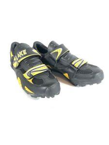Lake Women's Bike Shoes. Lace Up, Protective Flap, Hook & Loop Closure, Sz 9.5.