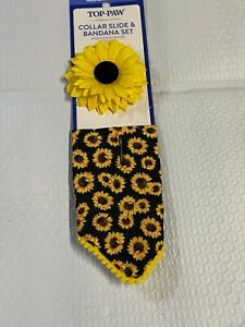 Sunflower Bandana with Box by Top