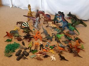 Toy dinosaur action figures collection