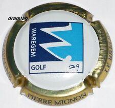 Capsule de Champagne : MIGNON Pierre  , cuvée Golf Waregem, n°55